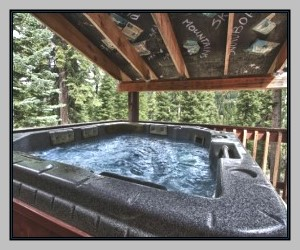 Hut Tub on the Deck